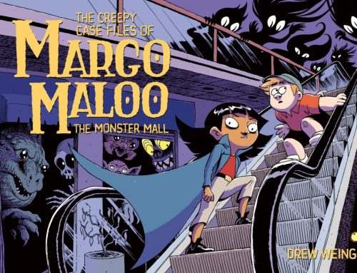 Happy Book Birthday to The Creepy Case Files of Margo Maloo: The Monster Mall!